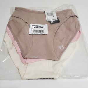 Joe's Jean 3 pcs bikini underwear panties